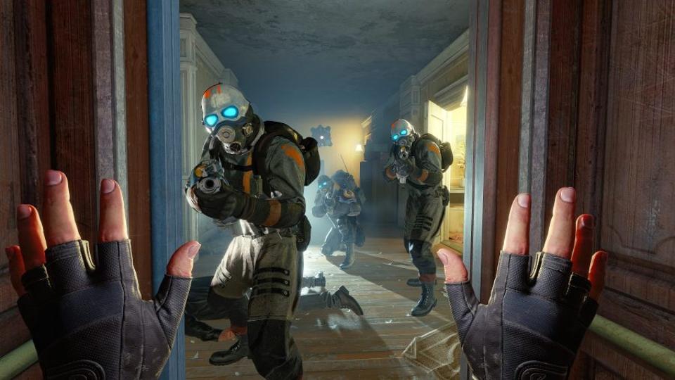 Скриншот игры Half Life