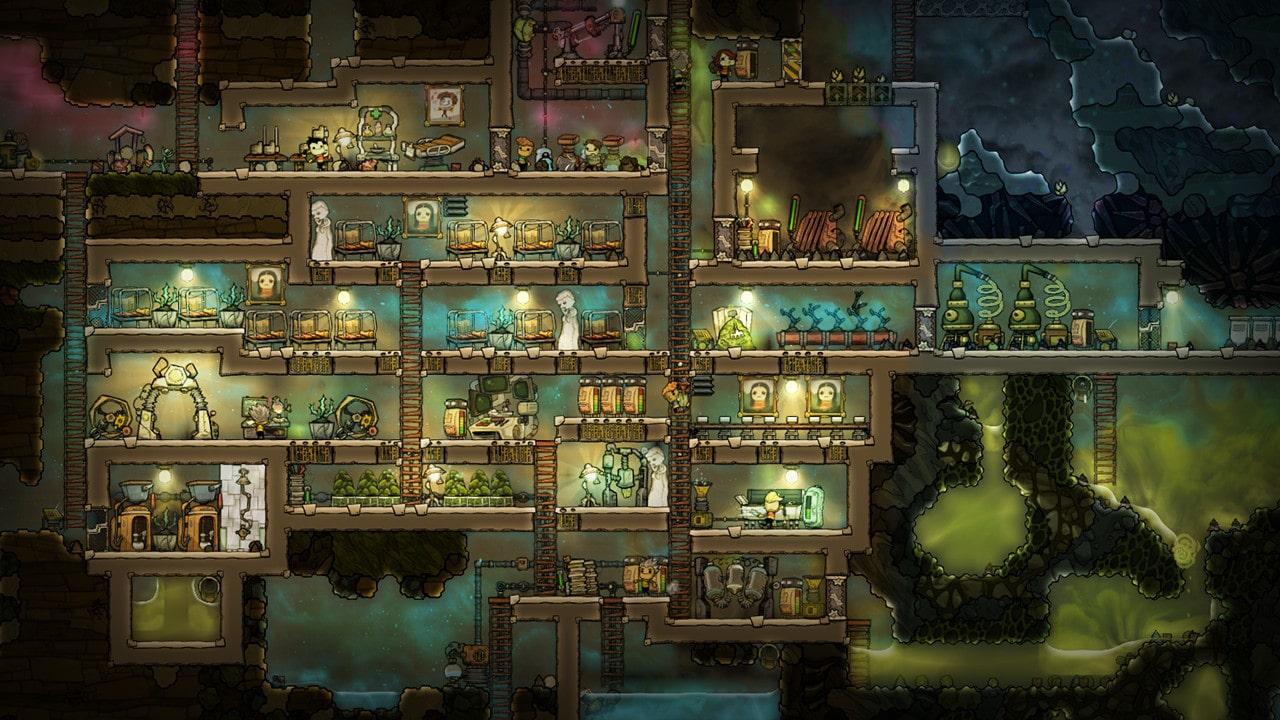 Скриншот игры Oxigen Not Included