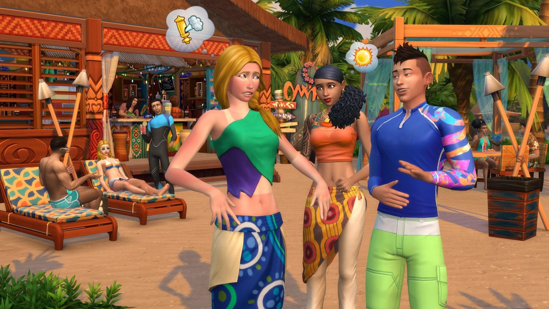 Скриншот игры Sims